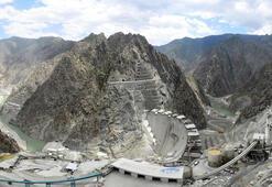Yusufeli Barajının tamamlanmasına 37 metre kaldı