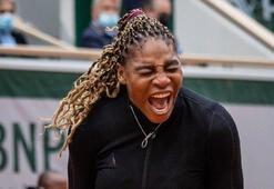 Serena Williams Fransa Açıktan çekildi