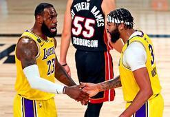 NBA finalinde ilk galibiyet Lakersın