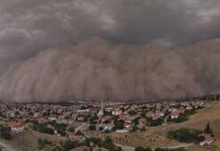 Ankaradaki kum fırtınasının nedeni belli oldu