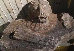 Denizlide Roma dönemi lahit kapağı ile yakalanan 3 kişiye gözaltı