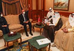 Dışişleri Bakanı Çavuşoğlu taziye ziyareti için Kuveytte
