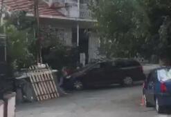 İstanbulda koca dehşeti Eşinin sığındığı baba evine aracıyla defalarca çarptı