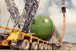 Her biri 365 ton ağırlığında Ve teslim edildi