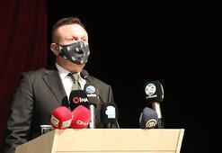 Başkan Çetin: Konyaspor maçını kazanarak çıkışa  geçeceğiz
