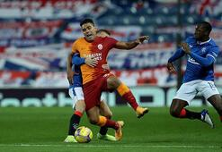 Rangers - Galatasaray maçında görüntüler