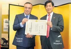 Orkinos ihracatıyla Japon Büyükelçilik ödülünü aldı