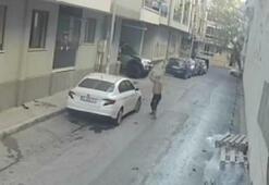 Park ettiği arabasının son halini gördü, şoka girdi