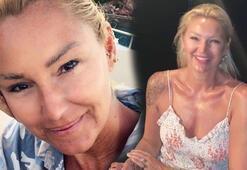 Pınar Altuğdan sıfır makyaj poz