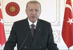 Cumhurbaşkanı Erdoğan önemli açıklamalarda bulunuyor