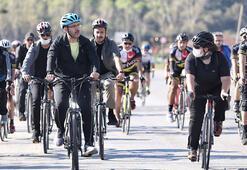Bakan Kasapoğlu, Beykozda bisiklet sürdü, yürüyüş yaptı