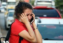 Ortalık savaş alanına döndü Gözyaşlarını tutamadılar