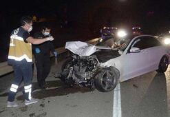 Otomobilin çarpması ile 200 metre sürüklenen yaya feci şekilde can verdi