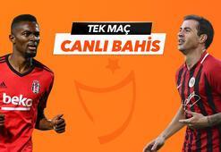 Beşiktaş - Gençlerbirliği maçı Tek Maç ve Canlı Bahis seçenekleriyle Misli.com'da