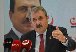 Mustafa Destici, il başkanları toplantısında konuştu