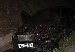 Manisada iki otomobil koyun sürüsüne daldı 7 yaralı, 15 koyun öldü