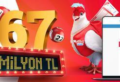 Çılgın Sayısal Loto çekilişi saat kaçta Çılgın Sayısal Lotoda büyük ikramiye 67,5 milyon TL