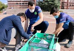 Eskişehirde üniversite öğrencileri 5 bin liraya ürettti