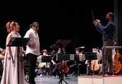 Il Tabarro Süreyya Operası Sahnesinde