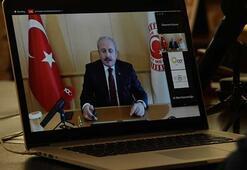 TBMM Başkanı Şentop, Çerkezköy Endüstriyel Fuarına on-line katıldı