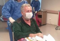 67 yaşında koronavirüsü yendi Alkışlarla taburcu edildi