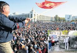 Seçim Kırgızistan'ı karıştırdı