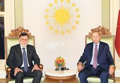 Erdoğan'dan Serrac'a: Birlik olun birlikte durun