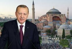 Cumhurbaşkanı Erdoğandan Ayasofya Camiine 2 hediye