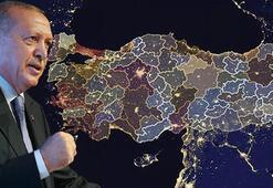 Cumhurbaşkanı Erdoğan imzaladı İl sayısı 24e yükseldi...