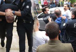 Yer: Kadıköy Saklandığı apartmandan çıkarıldı, gören saldırdı