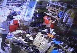 Pişkin hırsızlar girdikleri işyerinde dizi izledi