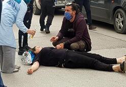 Esnafın park kavgasına polis müdahalesi