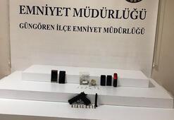 Güngörende uyuşturucu satıcıları suçüstü yakalandı