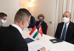 Çavuşoğlu, Fin ve Macar mevkidaşlarıyla görüştü