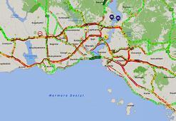 Son dakika... İstanbul'da trafik durma noktasına geldi