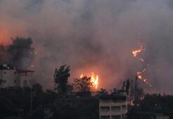 Hatayın Belen ilçesinde çıkan yangında son durum İşte yangının çıkış nedeni...