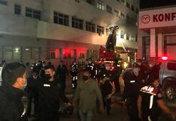 Ankarada psikiyatri hastası yatağını tutuşturdu: 1 yaralı, 5 kişi de dumandan etkilendi