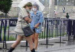 İstanbulda yağmur akşam saatlerine kadar devam edecek