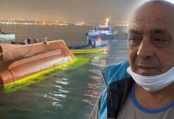 Batan tekneden kurtulan balıkçı: Balık fazlaydı, tekne kaldırmadı
