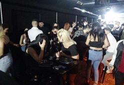Polis korona partisini bastı Ceza yağdı