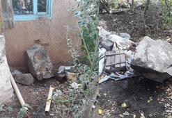Eskişehirde toprak kayması Evler tahliye edildi