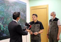 Bakan Pakdemirliden Hataydaki orman yangınında sabotaj iddialarına açıklama