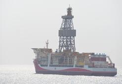 Kanuni sondaj gemisinin Mersindeki molası tamamlandı