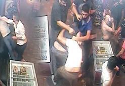 İstanbul'un göbeğinde meydan kavgası