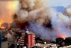 Hatay'daki yangında alevler yeniden evlere sıçradı