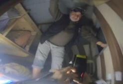 Samatyada batan tekneden kurtulan balıkçı o anları anlattı