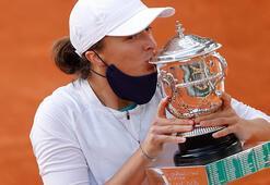Fransa Açıkta şampiyon Iga Swiatek