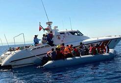 Egede 10 ayda, 16 bin 869 kaçak göçmen yakalandı