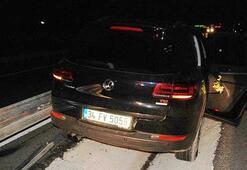 Malkarada trafik kazası: 2 yaralı