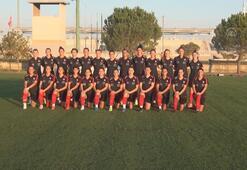 A Milli Kadın Futbol Takımının Antalya kampı başladı